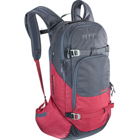 EVOC Line R.A.S. Rugzak 20l, heather carbon grey-heather ruby